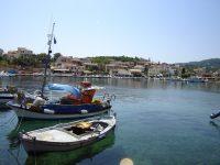 Cassiopi -fishing -village -Corfu -Greece