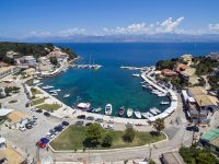 kassiopi-port-boats-corfu-ionian -islands-Greece